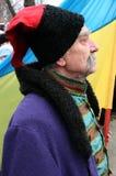 Cossack ucraniano idoso 10 fotografia de stock