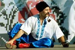 cossack ukrainian smokingowy krajowy Obrazy Royalty Free