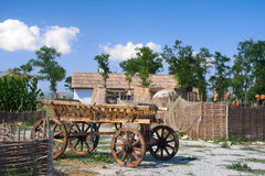 Cossack village Stock Photos