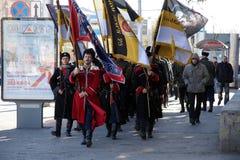 Cossacks. Στοκ Φωτογραφίες
