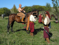 The Cossacks Stock Photo