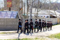 cossacks Royaltyfri Foto