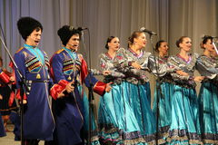 Cossacks Stock Photo