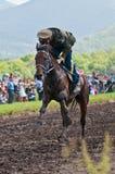 cossacks kona konia linia nieznane Obraz Stock