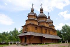 Cossacks kyrka Arkivbild