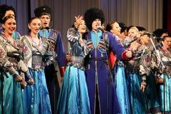 Cossacks songs Stock Image