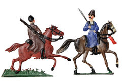 Cossacks Toy Soldiers Royalty Free Stock Images