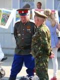Cossacos de Minusinsk Imagens de Stock Royalty Free