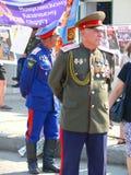 Cossacos de Minusinsk Fotos de Stock Royalty Free