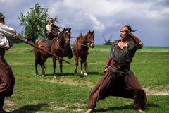 Cossacos ucranianos Imagem de Stock