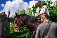 Cossacos ucranianos Fotos de Stock Royalty Free