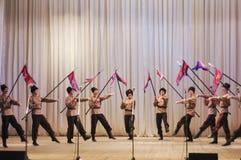 Cossacs de Nekrasov photo libre de droits