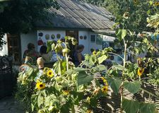 Cossak-Dorf Starocherkasskaya, Rostow-Region, Russland lizenzfreies stockbild