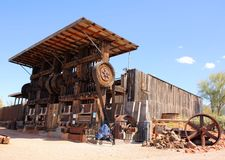 Cossak-Stempel-Mühle Lizenzfreies Stockbild