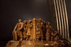 Cossaks de piedra imagen de archivo