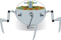 Cosse robotique de guerre d'araignée étrangère Images stock