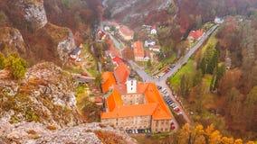 Cosse Skalou de Svaty janv. de village photos libres de droits