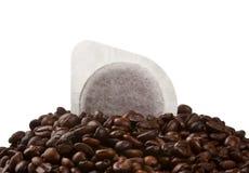 Cosses de café Image libre de droits