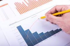 Cost analysis Stock Image