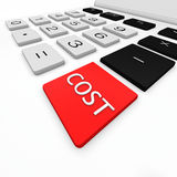 Cost Stock Image
