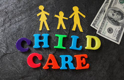 Cost of child care Stock Photography