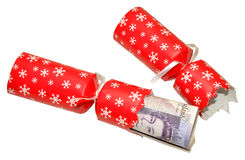 Cost Of Christmas Royalty Free Stock Images