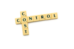 Cost control Stock Image