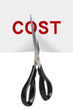Cost Cutting Royalty Free Stock Photos