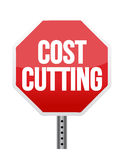 Cost cutting illustration design Royalty Free Stock Photos