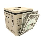 Cost of delivery Stock Photography