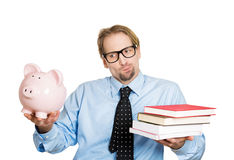 Cost of education Royalty Free Stock Images