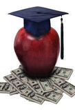 Cost of education concept Royalty Free Stock Photography