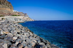Cost of Gran Canaria Royalty Free Stock Photo