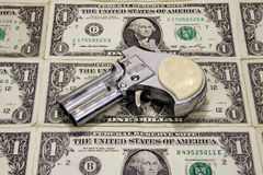 Cost of Handguns Stock Image