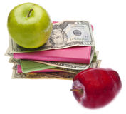 Cost of Health Care or Education Stock Image