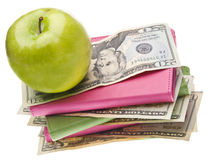 Cost of Health Care or Education Stock Photo