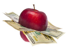 Cost of Health Care or Education Royalty Free Stock Photography