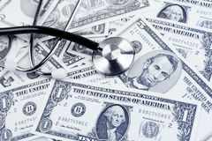 Cost of health care Stock Photo