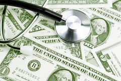 Cost of health care Royalty Free Stock Image
