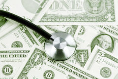 Cost of health care Stock Photography