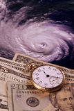 Cost of a hurricane Stock Photography