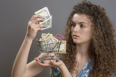 Cost of living concept Royalty Free Stock Photography