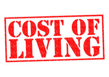 COST OF LIVING Royalty Free Stock Photos