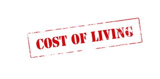 Cost of living Stock Image