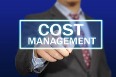 Cost Management Concept Royalty Free Stock Photos