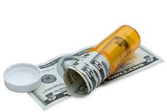 Cost of Medicine Stock Images