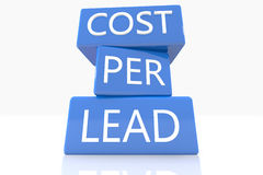 Cost per Lead Royalty Free Stock Images