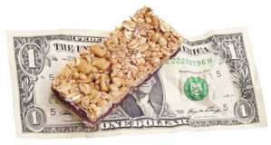 Cost of Snack Food Stock Photos