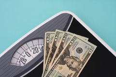 Cost of Weight Loss Stock Image