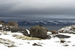 Costa ártica Imagens de Stock